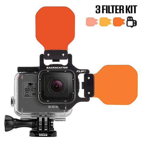 Backscatter Flip 6 GoPro  Filter kit