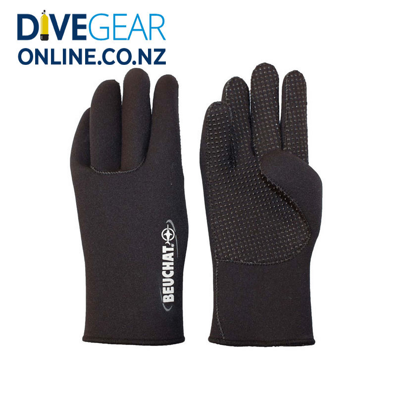 Beuchat Standard 3mm Gloves with Dots