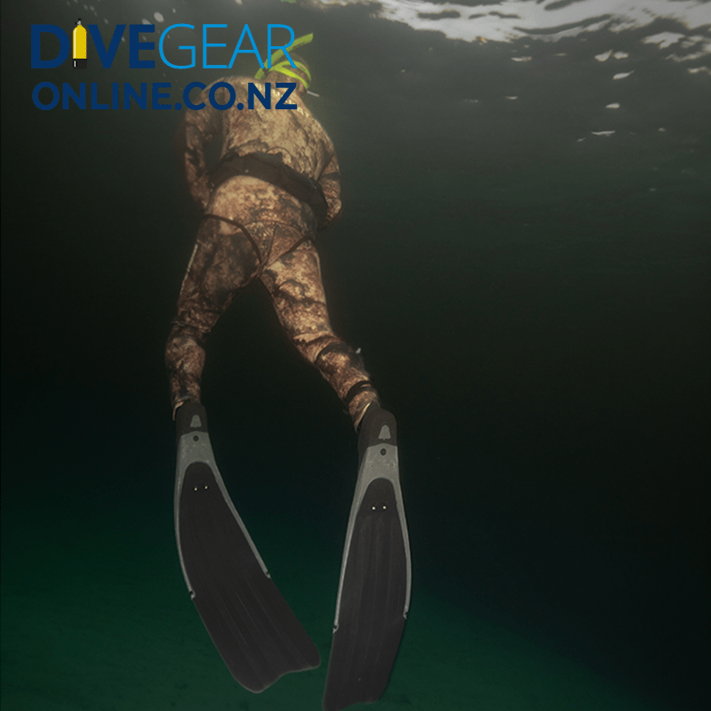 Freediver Camo Package Wide Foot Fins