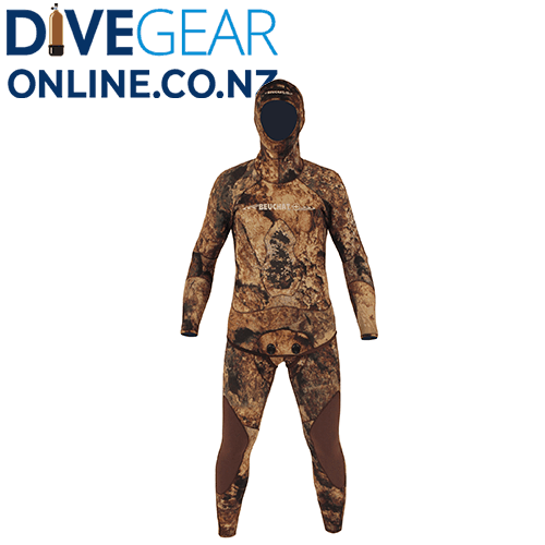Beuchat Rocksea Competition 5mm Mens Open Cell Wet Suit- Pieces from