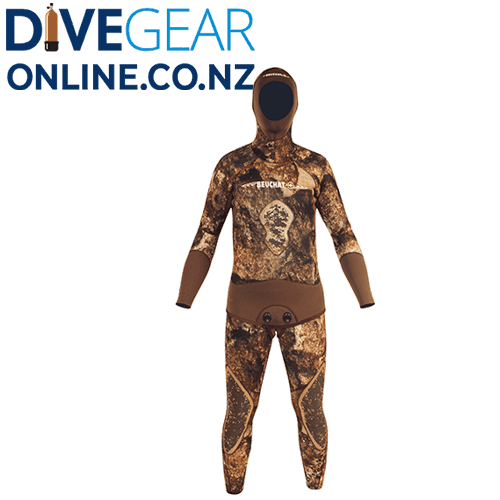 Beuchat Rocksea 5mm Mens Open Cell Wet Suit - Pieces from