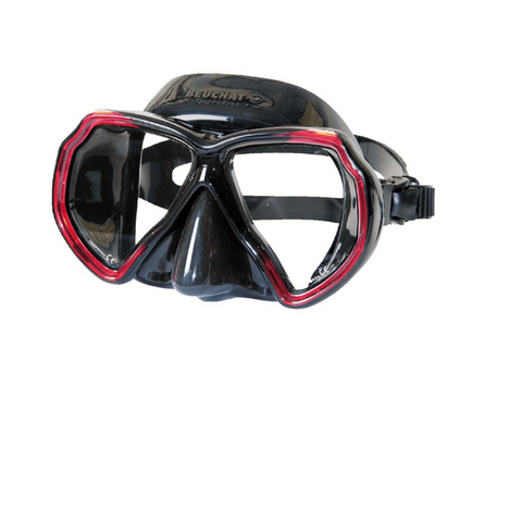 Beuchat X Contact 2 Mask Black Red