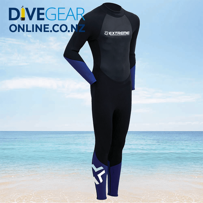 Extreme Limits Youth's 2.5mm Full Wetsuits - Steamer Suit
