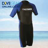 Extreme Limits Mens and Womens 2.5mm Shorty Wetsuits - Spring Suit