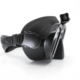 Freedive Capture Mask with action camera mount