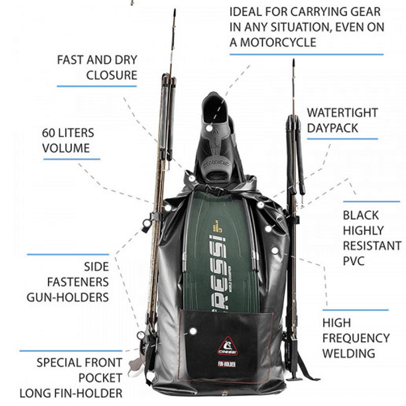 Cressi Gara Dry Backpack - Due back in stock September 2020