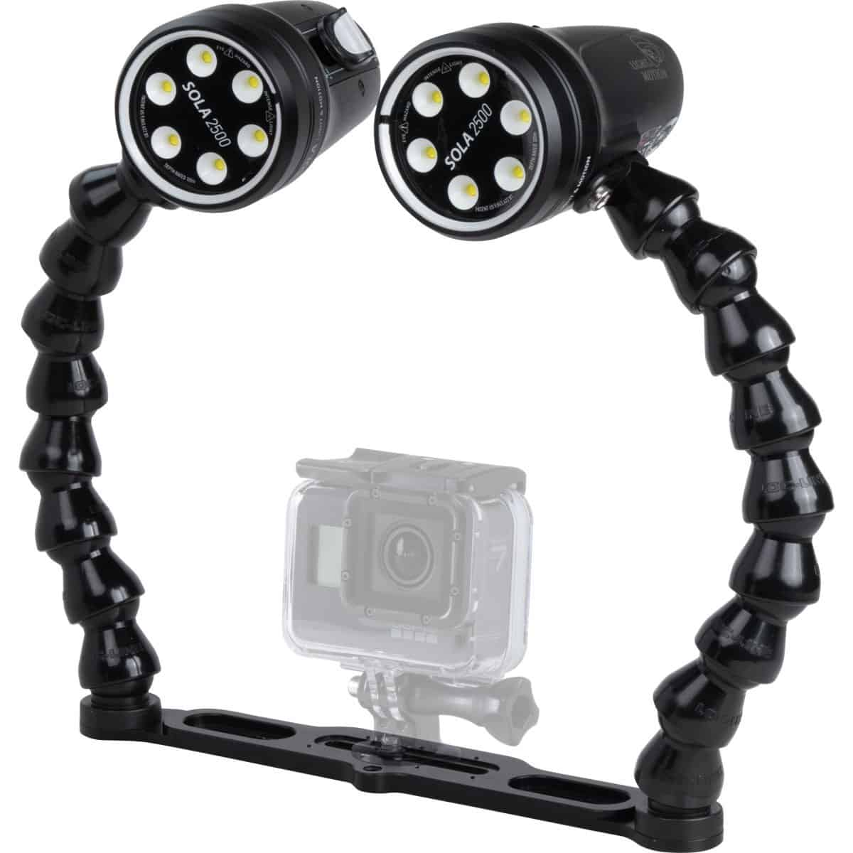 Light and Motion Sola 2500F Video Action Kit