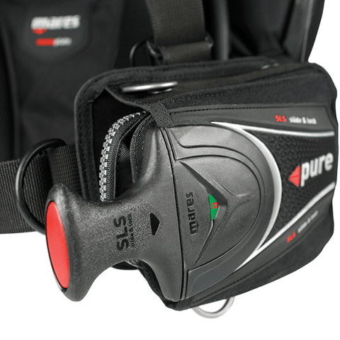 Mares SLS Weight pocket system set
