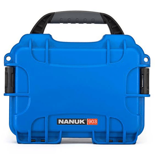 Nanuk 903 hard case blue