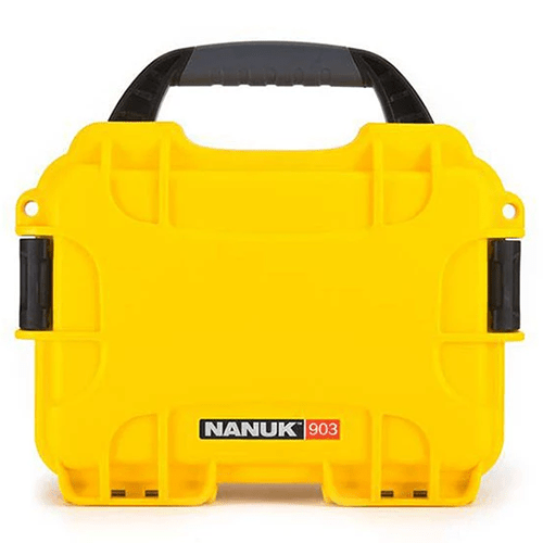 Nanuk 903 hard case yellow