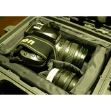 Nanuk 905 hard case in use with camera gear