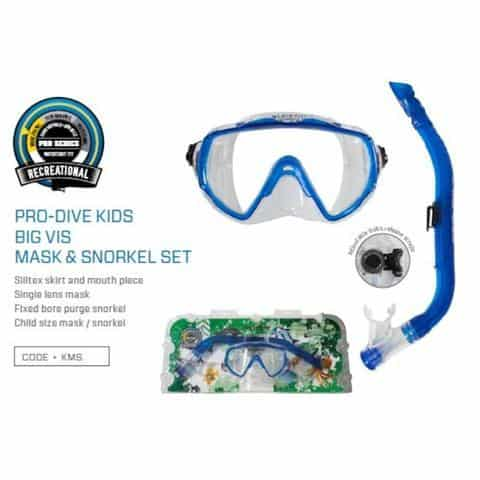 Pro Dive Youth Mask and Snorkel Set