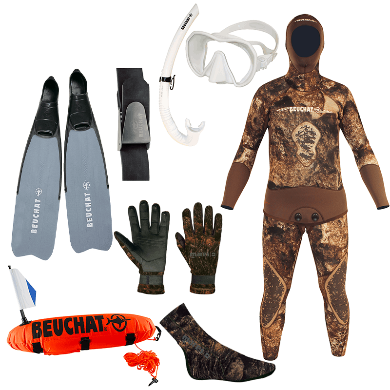 Freediver Camo Package Sport Fins