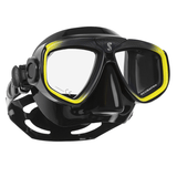Scubapro Zoom Evo Mask Black and Yellow