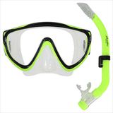 Atlantis Spree MS43 Children's Mask and Snorkel Set Ages 3-7 Yellow