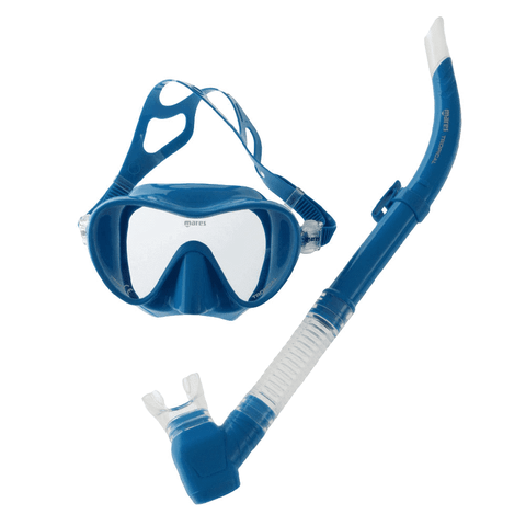 Mares Tropical Adult Mask and Snorkel Set Blue