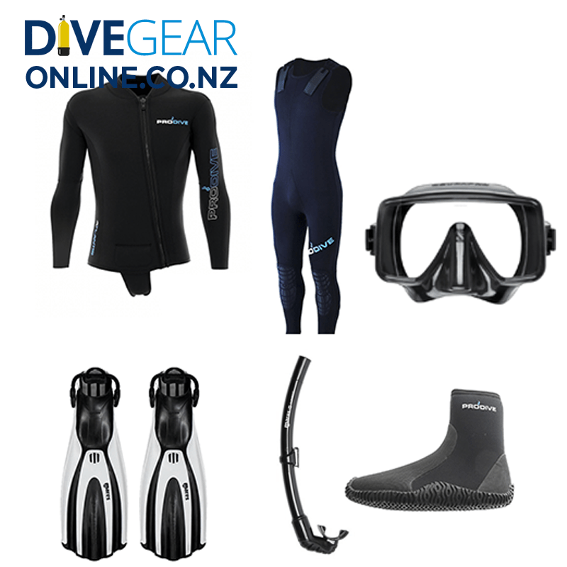 Classic diving wetsuit package