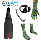 Freedive / Snorkel Set with Short fin