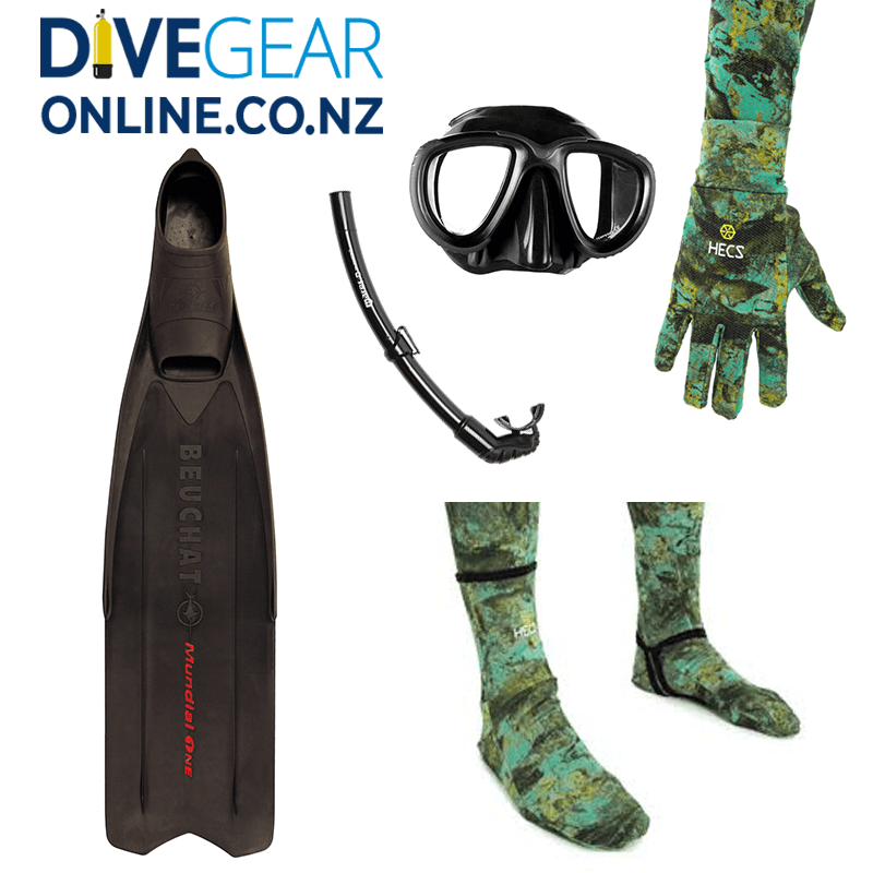Freedive / Snorkel Set
