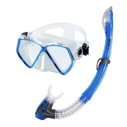 Mares Pirate Junior Snorkelling set Blue