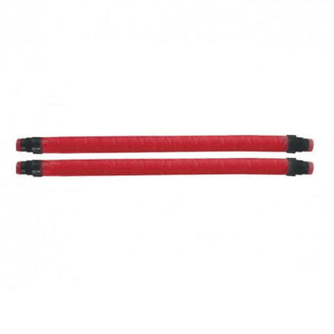 Pair of 18mm Megatonne set length rubbers.  Universal thread - Beuchat.  From