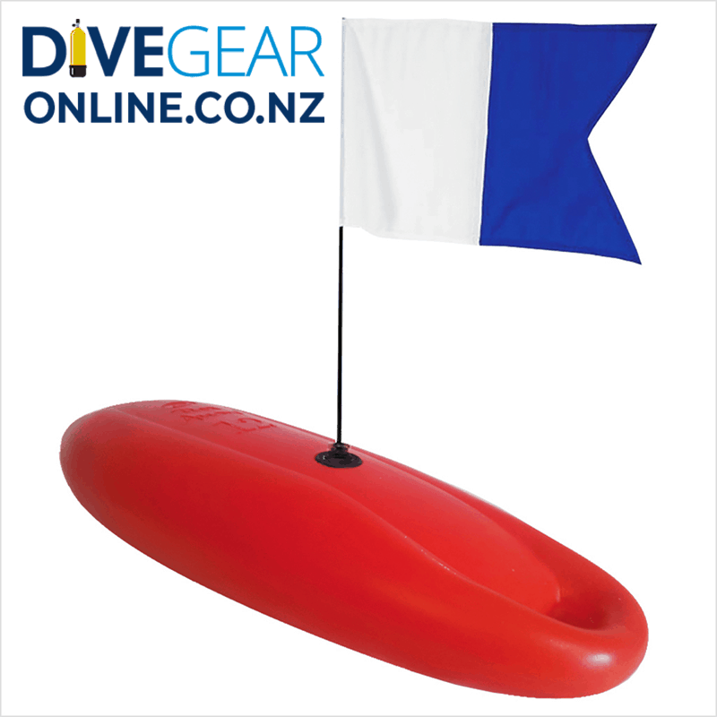 Rob Allen 12L Hard Float with flag and keel weight