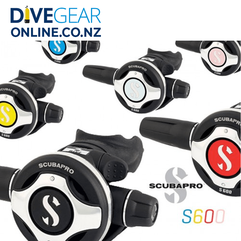 Scubapro S600 Regulator Colour Kit