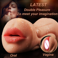 Realistic Oral 3D Masturbator for Men - Real Silicone Sex Dolls