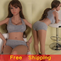 Sports Style Real Silicone Sex Dolls with Skeleton for Men