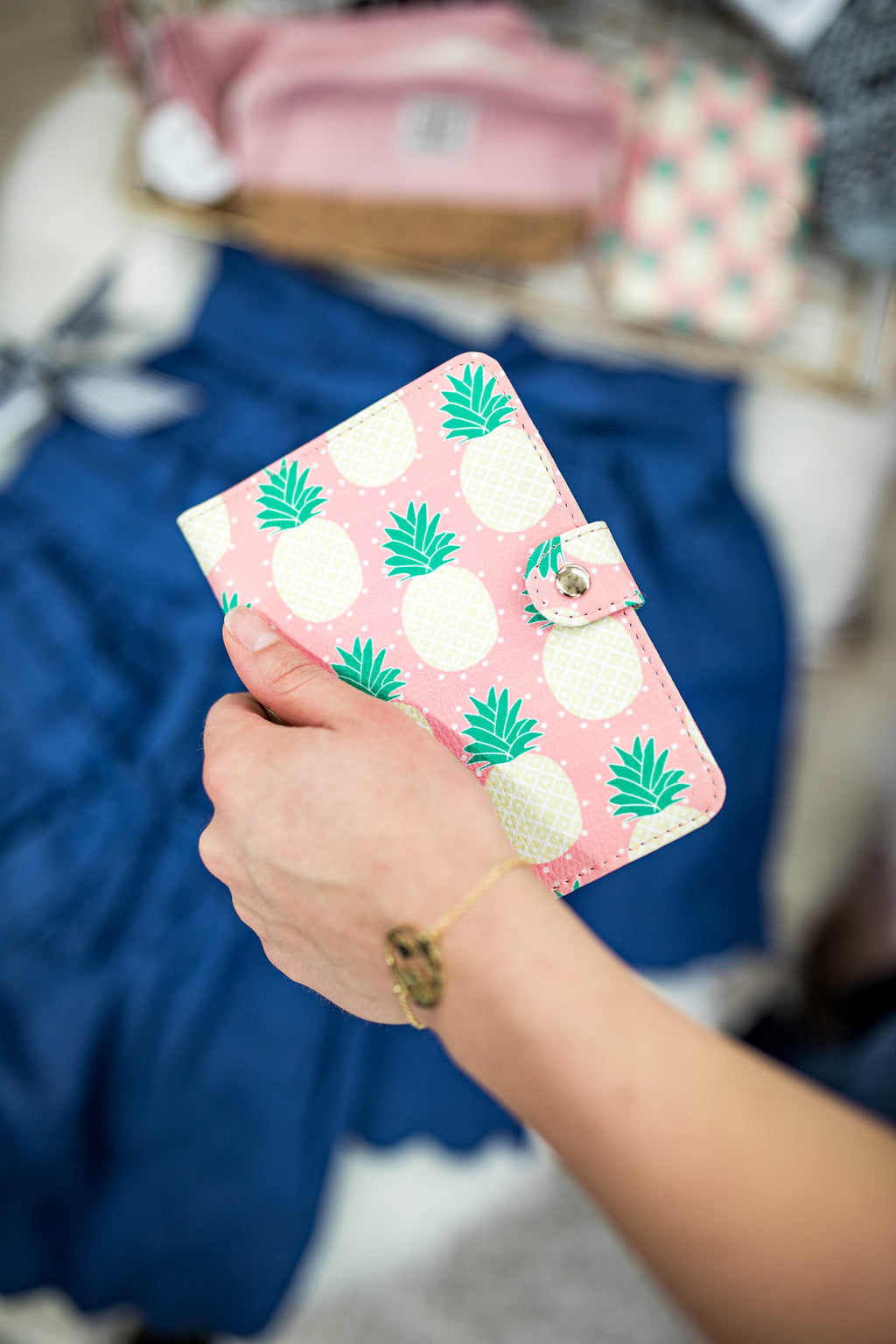 Pineapple Passport Case