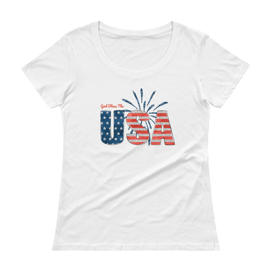 God Bless The USA Graphic Tee
