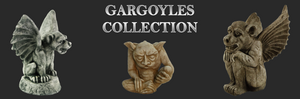 Gothic Gargoyles and Skulls