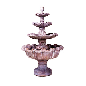 four tier big water fountains for sale