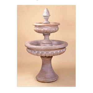 Two tier garden fountain for sale