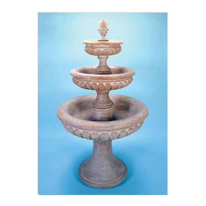 three tier water fountains for sale