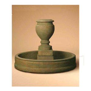 Etruscan Urn Garden Fountain, 42 inches H x 48 inches W