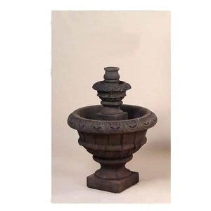 Toscana Garden Fountain, 35 inches H x 24 inches W, Base: 11 inches FREE SHIPPING