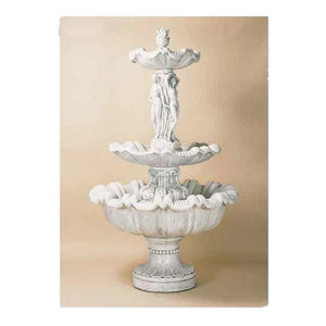 three women sculpture fountain for Sale