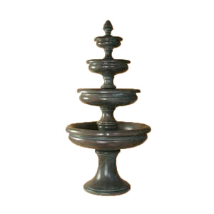 Huge four tier water fountain