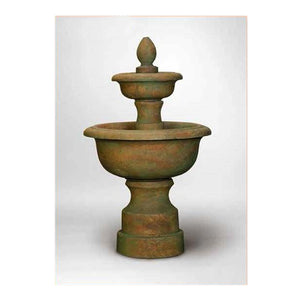 Concrete Two Tier Water Fountain