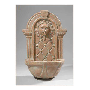 Celestial Water Wall Fountain, 28 inches H x 18 inches W x 11 inches D