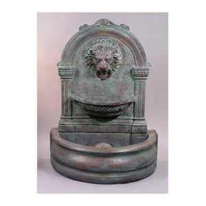 Trevi lion wall fountain for sale