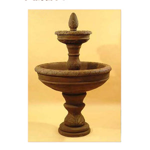 two tier water fountain