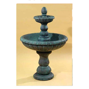 water fountain two tier