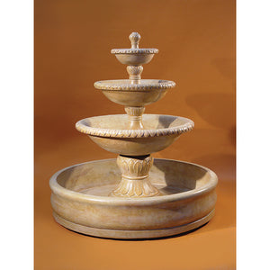 Verona Three Tier Pond Water Fountain, 64 inches H x 60 inches W FREE SHIPPING