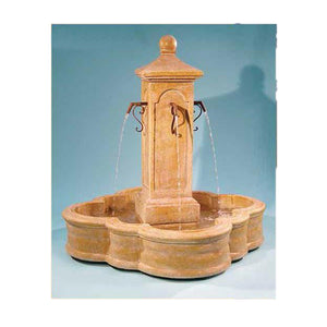 Traditional European Style Indoor Outdoor Water Fountain