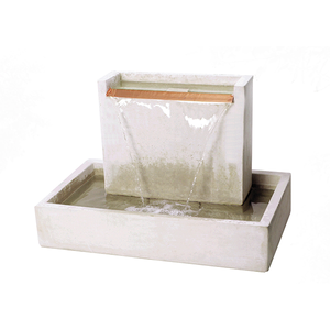 Water Wall Fountain, 22 inches D x 36 inches W x 24 inches H FREE SHIPPING
