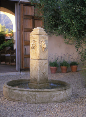 Leon head water fountain for sale