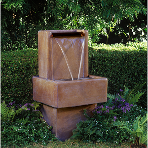 Water Wall Fountain SM, 36 inches H x 19 inches W x 17 inches D, FREE SHIPPING