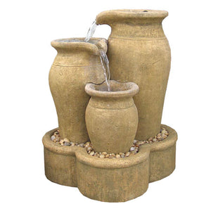 Hacienda Fountain - Large, 28 inches D x 32 inches W x 40 inches H FREE SHIPPING